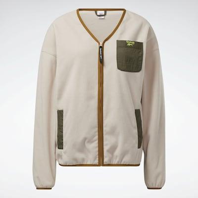 Reebok Classics Fleece Jacket 'Classics Polar' in Nude / Auburn / Olive, Item view