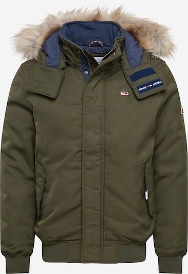 Tommy Jeans Winterjas in de kleur Lichtbruin / Olijfgroen, Productweergave