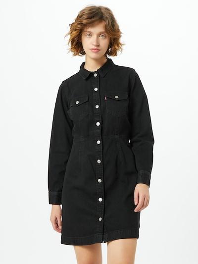 LEVI'S Blousejurk 'ELLIE' in de kleur Zwart, Modelweergave