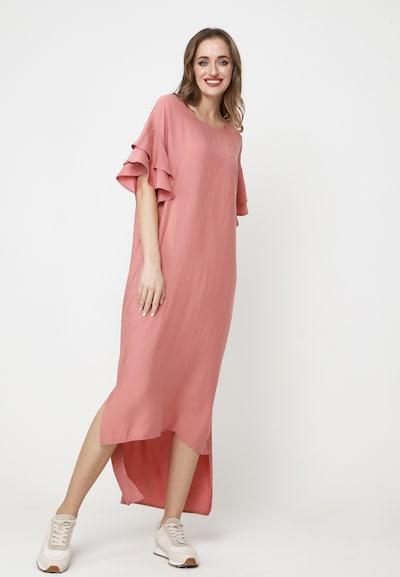 Madam-T Sommerkleid 'SATINESSA' in pink, Modelansicht