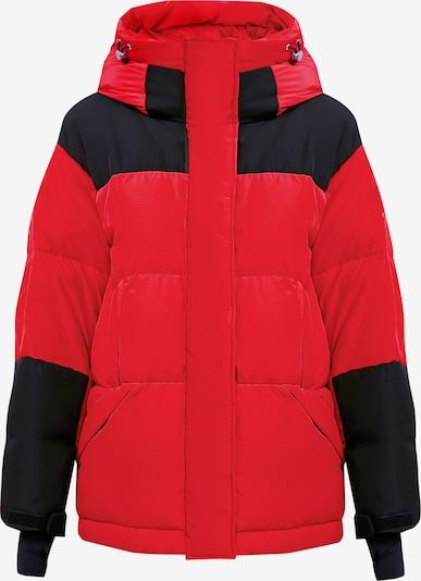 Finn Flare Winterjas in de kleur Rood, Productweergave