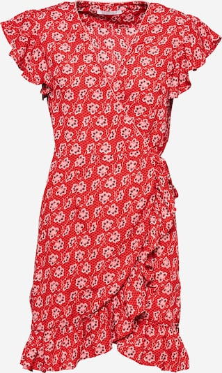 Freebird Kleid 'Rosy' in rosa / rot / schwarz / weiß, Produktansicht