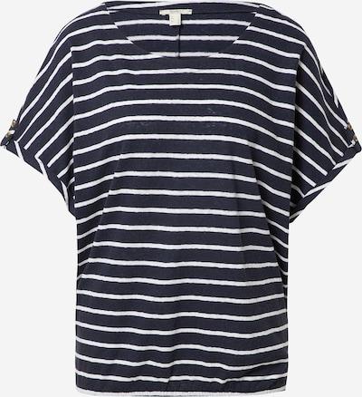 ESPRIT Tričko - námořnická modř / bílá, Produkt