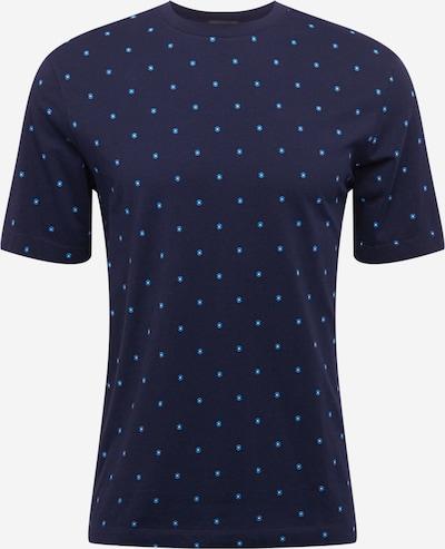 SCOTCH & SODA Shirt in navy / himmelblau / weiß, Produktansicht
