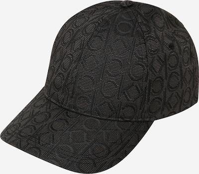Calvin Klein Шапка с козирка в сиво / черно, Преглед на продукта