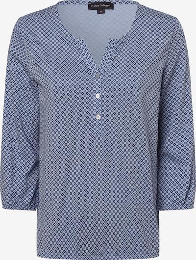 Franco Callegari Shirt in dunkelblau / gelb, Produktansicht