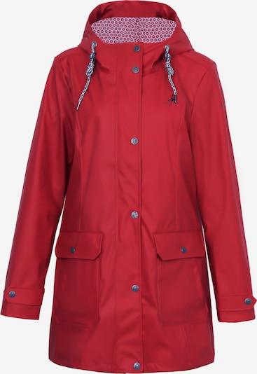 Dingy Rhythm Of The Rain Regenjacke 'Friesennerz' in rot, Produktansicht