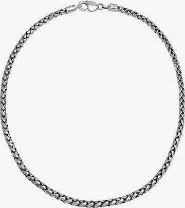 KUZZOI Halskette Basic Kette in Silber