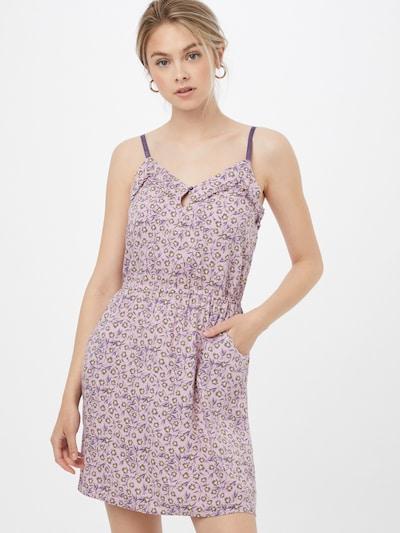 Pimkie Kleid in gelb / lila / dunkellila, Modelansicht