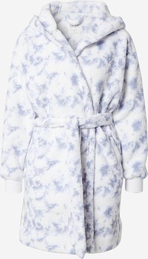 Cotton On Bademantel in rauchblau / weiß, Produktansicht