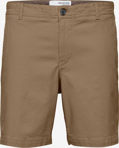 SELECTED HOMME Shorts 'Storm' in hellbraun, Produktansicht