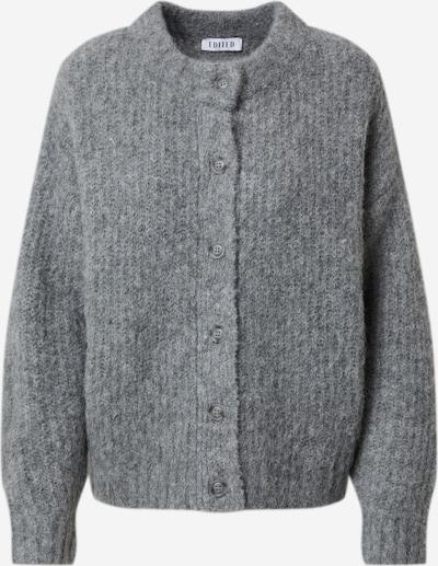 EDITED Cárdigan 'Thassia' en gris / gris moteado, Vista del producto