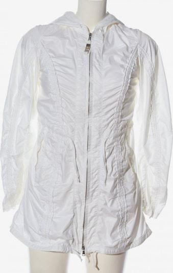 Trussardi Jeans Übergangsmantel in M in weiß, Produktansicht