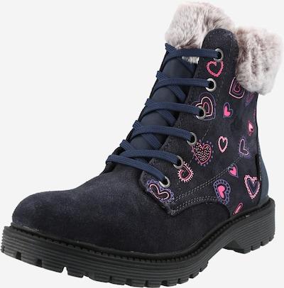 LICO Stiefel 'Asha' in marine / pink / rosa, Produktansicht