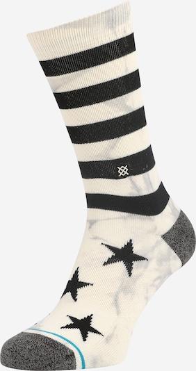Stance Sportsocken 'SIDEREAL 2' in türkis / grau / schwarz / weiß, Produktansicht