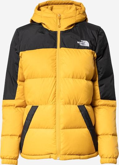 THE NORTH FACE Outdoorjas 'DIABLO' in de kleur Goudgeel / Zwart / Wit, Productweergave