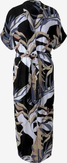 MINE TO FIVE Kleid in beige / dunkelblau / weiß, Produktansicht