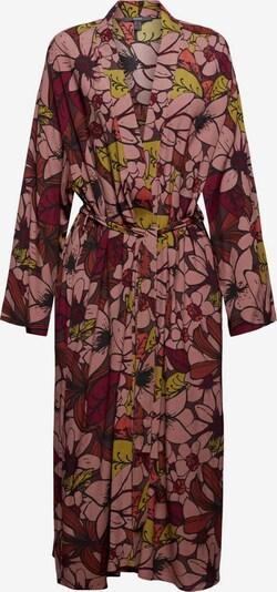 Esprit Collection Kimono en mélange de couleurs / bordeaux, Vue avec produit