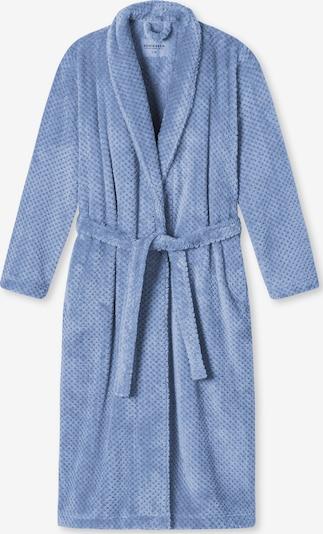 SCHIESSER Robe de chambre ' selected! premium ' en bleu clair, Vue avec produit