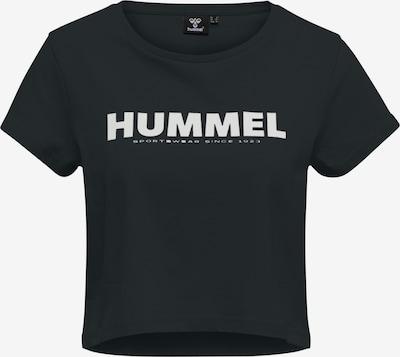 Hummel T-Shirt in schwarz / weiß, Produktansicht