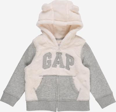 GAP Mikina 'GARCH' - šedý melír / offwhite, Produkt