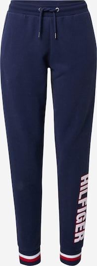Tommy Hilfiger Underwear Панталон в нейви синьо / пъпеш / бяло, Преглед на продукта