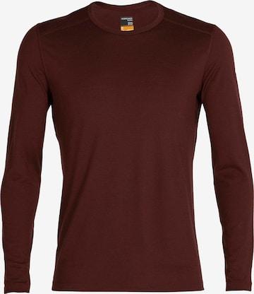 brūns ICEBREAKER Sporta krekls '200 Oasis'