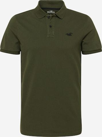 HOLLISTER Poloshirt in Grün