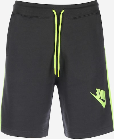 NIKE Shorts in anthrazit, Produktansicht