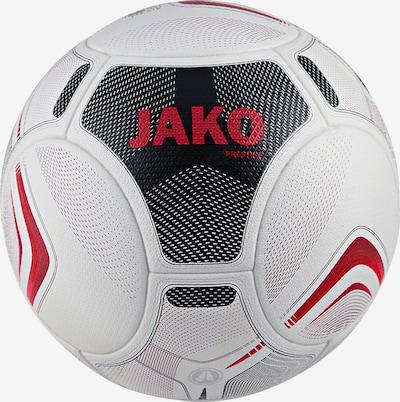 JAKO Ball in rot / schwarz / weiß, Produktansicht