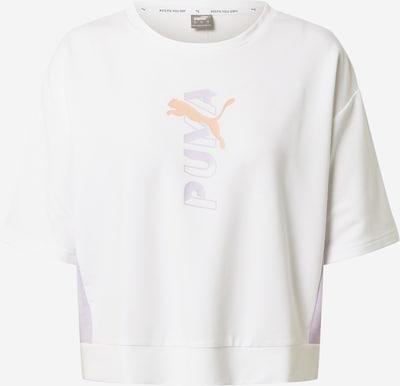 PUMA Sporta krekls pelēks / gaiši rozā / balts, Preces skats
