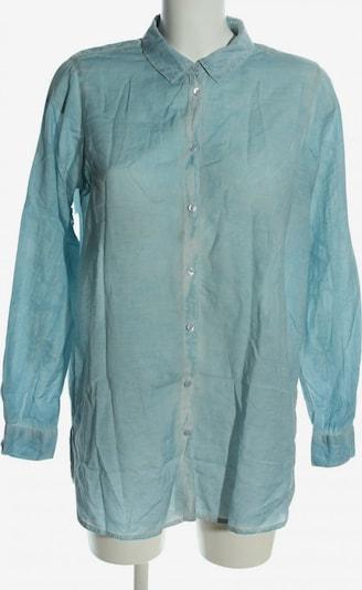 lykkelig Langarmhemd in M in blau, Produktansicht