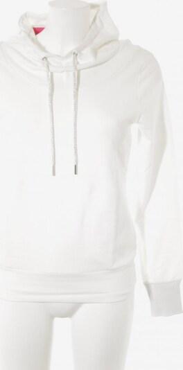 Cartoon Kapuzensweatshirt in XS in silber / wollweiß, Produktansicht