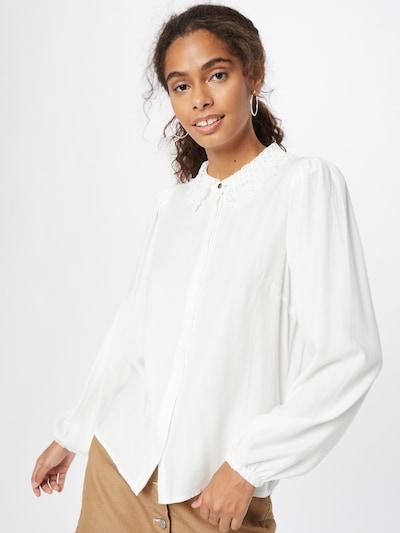 PULZ Jeans Bluse 'Myra' in weiß, Modelansicht