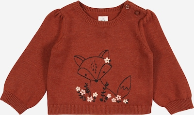 GAP Pullover 'FOX CRITTER' in rosa / rostrot / schwarz, Produktansicht
