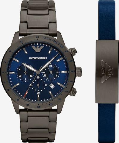 ARMANI Herren-Uhren-Set in grau, Produktansicht