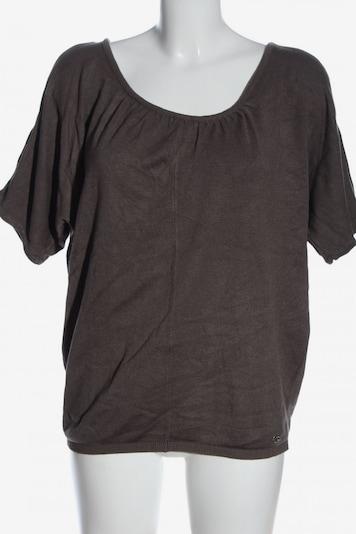 Lisa Tossa Kurzarm-Bluse in L in hellgrau, Produktansicht