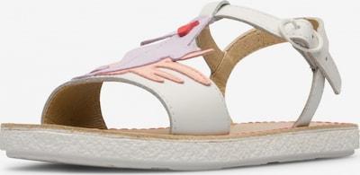 CAMPER Sandale ' Twins ' in helllila / pastellpink / weiß, Produktansicht