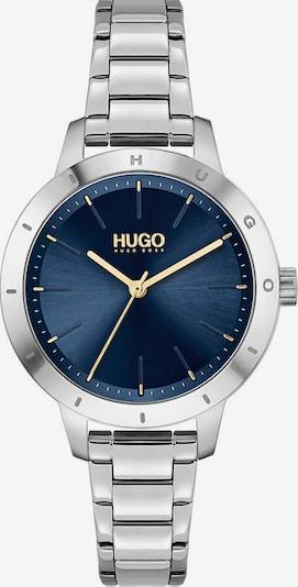 HUGO Analoguhr in dunkelblau / gold / silber, Produktansicht