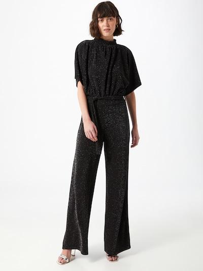 Tuta jumpsuit SISTERS POINT di colore nero / argento, Visualizzazione modelli