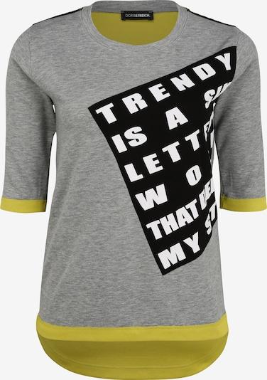 Doris Streich Sweatshirt in de kleur Lichtgrijs, Productweergave