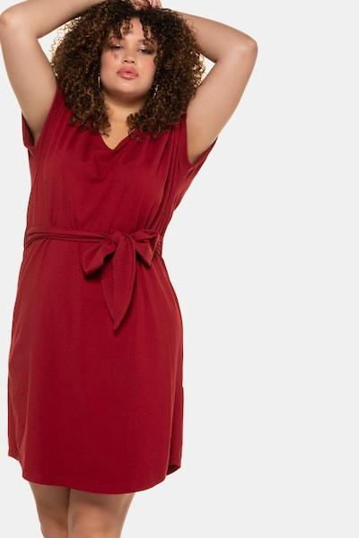 Studio Untold Kleid in merlot, Modelansicht