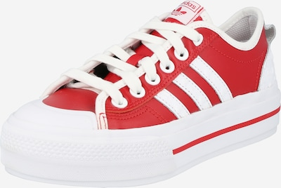 ADIDAS ORIGINALS Sneaker 'Nizza' in rot / weiß, Produktansicht