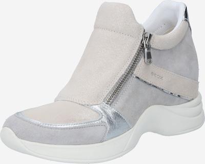 GEOX Sneaker in grau / taupe / silber, Produktansicht