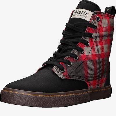 Ethletic Sneaker 'Fair Brock' in rot / schwarz, Produktansicht