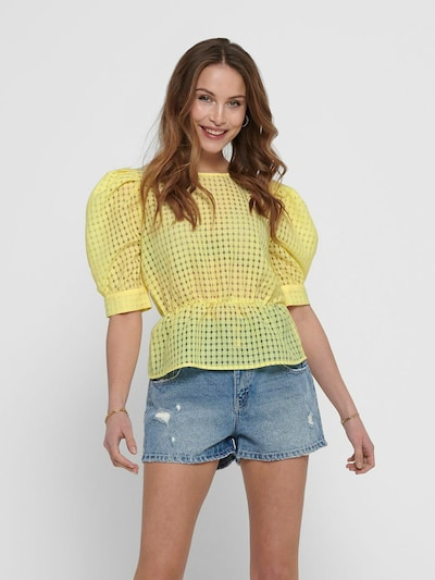 ONLY Bluza u svijetložuta, Prikaz modela