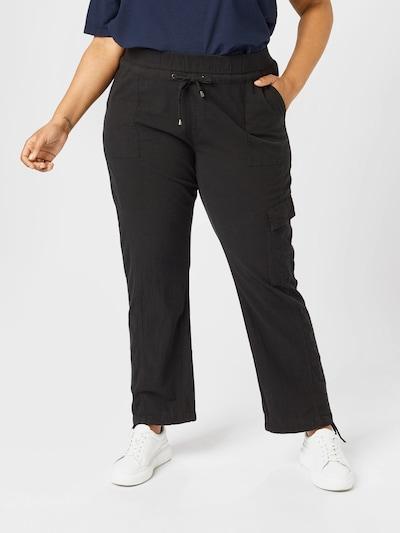 fekete Zizzi Cargo nadrágok 'JEASY', Modell nézet