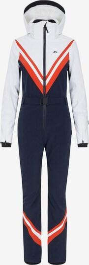 J.Lindeberg Ski Jumpsuit in blau / weiß, Produktansicht