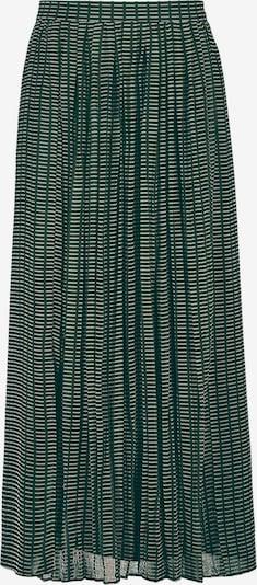 GERRY WEBER Rock in dunkelgrün / weiß, Produktansicht