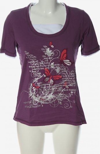 Paola! Print-Shirt in L in lila / rot / weiß, Produktansicht